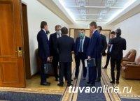 Глава Тувы вернулся из рабочей командировку в Москву