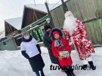 """Новый год в каждый дом! Молодежные активисты Тувы дарят """"Корзины радости"""""""