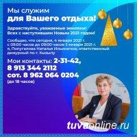 """Сегодня """"дежурной по городу Кызылу"""" является вице-мэр Наталья Попугалова"""