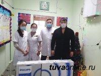 Тува: Врачи Ресбольницы участвуют в акции «Твори добро»