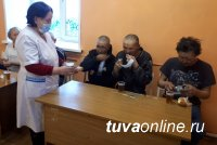 В вытрезвителе Тувы на Рождество провели акцию добра