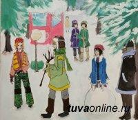 Октаевский онлайн-конкурс детского рисунка «Праздник Рождества» –  2021 дошел до Великобритании