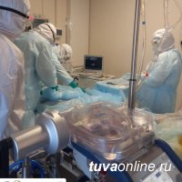 Врачи Тувы впервые применили экстракорпоральную оксигенацию