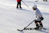 Совет молодых врачей Тувы построил в Чадане новую хоккейную коробку