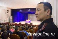 В Туве на Шагаа стражи порядка несут службу в усиленном режиме