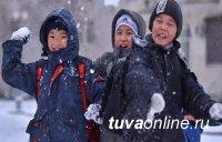 В Туве 22 февраля школьники учатся