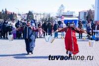 В Кызыле весело и сытно проводили Зиму
