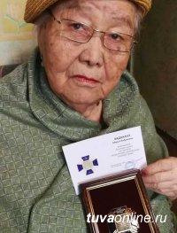 Ушла из жизни известный литературовед, Почетный гражданин Кызыла Мария Андреевна Хадаханэ