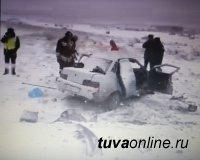 В Туве обильный снегопад стал причиной аварии, где погибли 4 человека, столько же – получили травмы