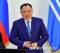 Ушедший в отставку глава Тувы записал видеообращение