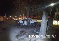 В столице Тувы этой ночью  в двух ДТП погибли молодая девушка и 14-летний подросток