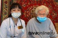 Первый этап вакцинации против Covid прошел 96-летний Народный писатель Тувы Монгуш Кенин-Лопсан