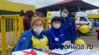 Скорая помощь манекену. Сотрудники скорой помощи Тувы состязались в быстроте и качестве оказания медицинских услуг