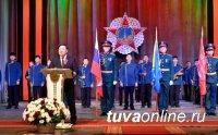 В Кызыле проведен праздничный концерт, посвященный 76-й годовщине Великой Победы
