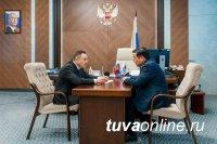 Владислав Ховалыг реконструкцию и строительство инженерных сетей Кызыла обсудил с министром строительства России