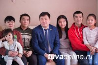 Мэр Кызыла поздравил горожан с Международным днем Семьи