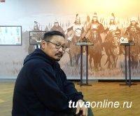 В Кызыле 24 мая откроется персональная выставка Народного художника Тувы Начына Шалыка