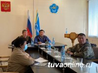 В Туве введен режим региональной ЧС