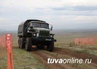 """""""Военное ралли"""" стартовало сегодня в Туве у села Бай-Хаак"""