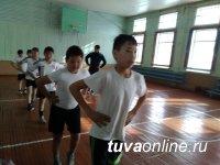 97,7% школьников Тувы занимаются физкультурой в основной группе здоровья