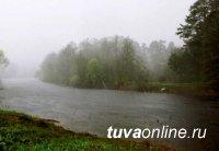 В Туве за прошедшие сутки уровень воды в Малом Енисее поднялся на 1 метр