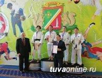 На чемпионате России по дзюдо среди слабослышащих у Тувы золото и три серебра