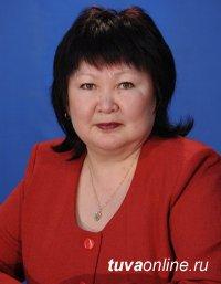 Юбилей отмечает Почетный работник общего образования России Людмила Тас-оол