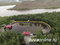 В Туве на Малом Енисее уровень воды на 32 см превышает критический