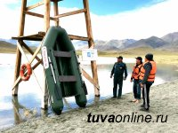В Туве открылся  пляж на лечебном озере Ак-Холь
