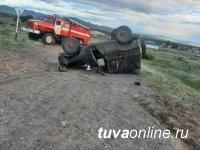 13-летний сел за руль и погиб при опрокидывании машины с 6-ю подростками внутри