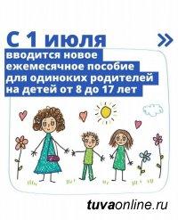 1 июля начался прием заявлений на новые пособия семьям