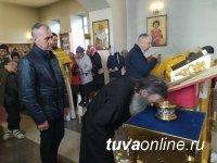 В православный храм Турана на постоянное пребывание привезены частицы мощей святителей