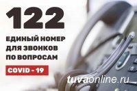 """В Туве вновь заработала """"горячая линия"""" 122 по коронавирусу"""