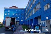 В Кызыле 181 человек с ковидом находятся в тяжелом состоянии