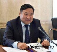 Врио главы Тувы призвал к сотрудничеству ООО «Лунсин»