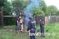 Полицейские Тувы проверяют места скопления подростков