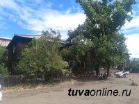В Кызыле идет снос аварийных домов