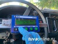 В Кызыле пассажирский автобус разъезжал с неисправностью тормозной системы