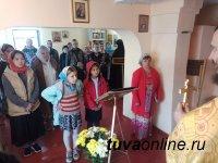 Престольный праздник отметил Петропавловский приход в тувинском поселке  Черби
