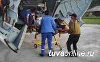 В больнице Тувы рассказали, как собаки «отвоевали» мужчину у медведя