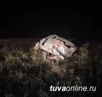 В Туве в результате  опрокидывания «Шевроле Нива» погибли  пять человек