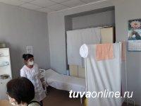 В  прививочных пунктах Тувы быстро заканчивается первый компонент вакцины