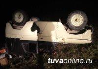 В очередной раз в Туве мужчина без водительских прав совершил ДТП