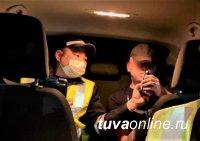 С начала года на дорогах Тувы задержано 1753 нетрезвых водителя