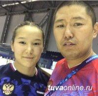Тувинская спортсменка Чойгана Тумат завоевала бронзу на Первенстве мира среди юниоров по вольной борьбе