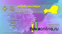 В Туве за прошедшие сутки выявлено 63 новых случая заболевания Covid-19 (сутками ранее - 58)