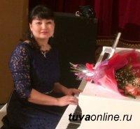 Чойгана Комбу-Самдан, композитор родом из Эрзина