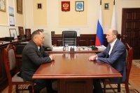 В Алтае обсудили возможность прямого авиасообщения между Горноалтайском и Кызылом