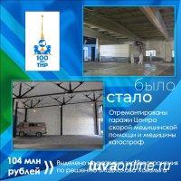 В Кызыле на ремонт гаража скорой медпомощи выделили более 500 тысяч рублей