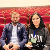 Сюзанна Ооржак представляет Туву  в Чечне на III Всероссийском фестивале национальных театров «Федерация»